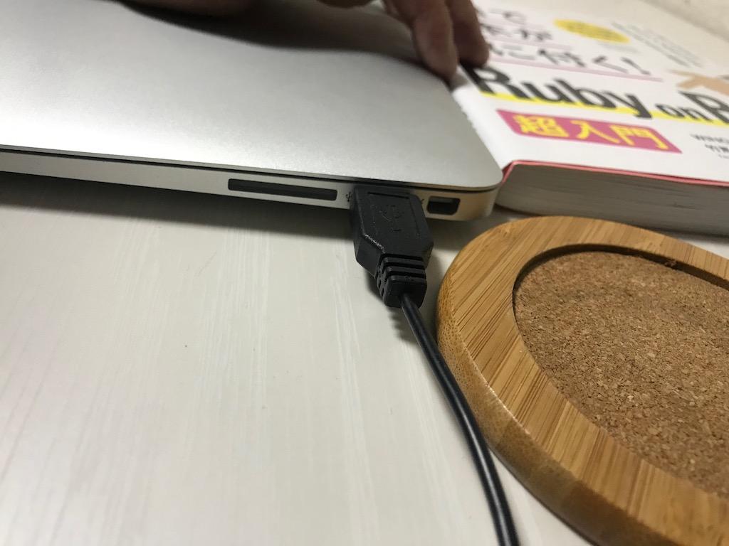 PCにHDMI差し込み口