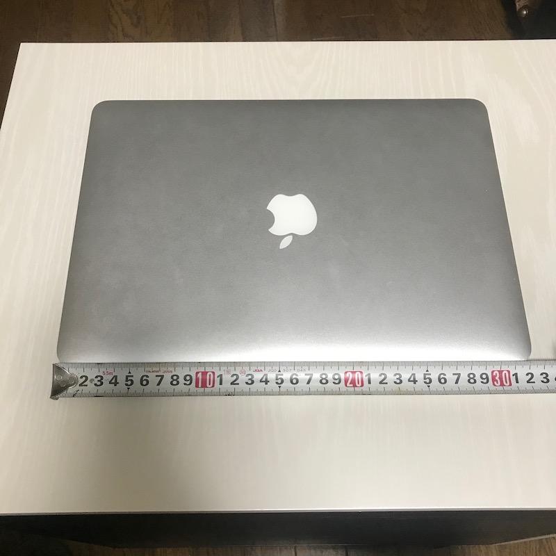 MacBook Air13インチ横幅