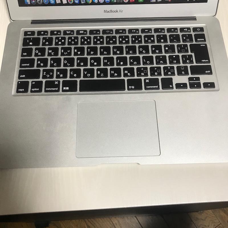MacBook Air13インチのキーボード