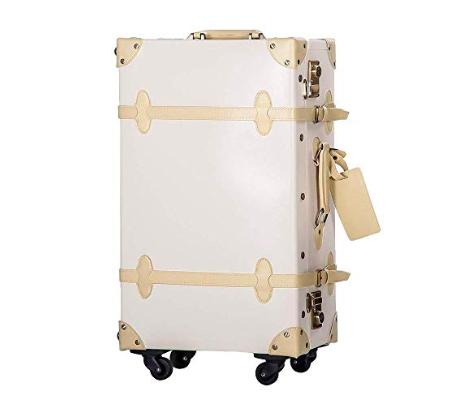 TANOBI スーツケースのホワイト