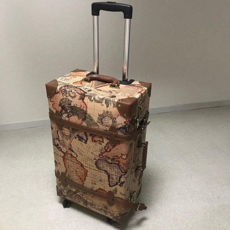 TANOBI スーツケースをレビューします