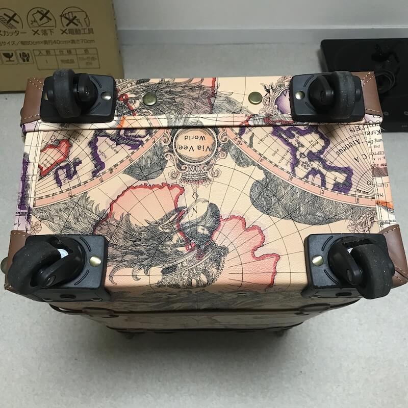 TANOBI スーツケースのキャスター