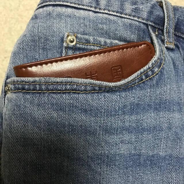 横のポケット
