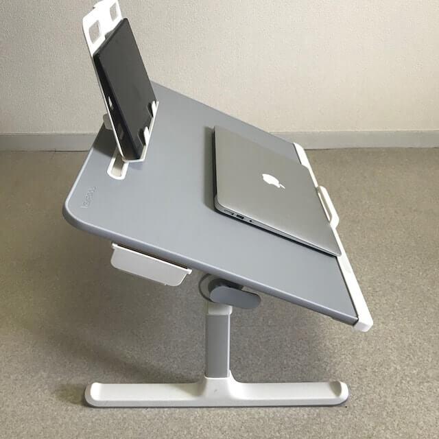 NEARPOW 折りたたみベットテーブルの角度調節